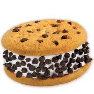 Chocolate Chip Cookie Sandwich